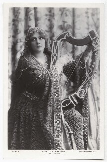 Lily Brayton as Iseult in 'Tristram and Iseult', by Rita Martin, published by  Rotary Photographic Co Ltd - NPG x131489