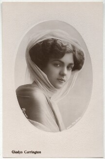 Gladys Carrington (Gladys Winifred Tancred, née Chandler), by Rita Martin, published by  Aristophot Co Ltd - NPG x131492