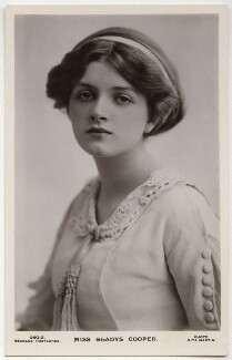 Dame Gladys Cooper, by Rita Martin, published by  J. Beagles & Co - NPG x131496