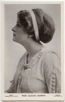 Dame Gladys Cooper, by Rita Martin, published by  J. Beagles & Co - NPG x131498