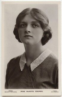 Dame Gladys Cooper, by Rita Martin, published by  J. Beagles & Co - NPG x131501