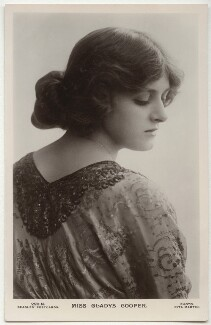 Dame Gladys Cooper, by Rita Martin, published by  J. Beagles & Co - NPG x131502
