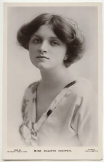 Dame Gladys Cooper, by Rita Martin, published by  J. Beagles & Co - NPG x131509