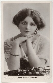 Dame Gladys Cooper, by Rita Martin, published by  J. Beagles & Co - NPG x131510