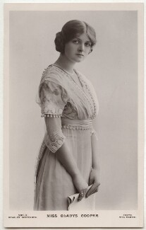 Dame Gladys Cooper, by Rita Martin, published by  J. Beagles & Co - NPG x131513