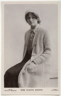 Dame Gladys Cooper, by Rita Martin, published by  J. Beagles & Co - NPG x131514