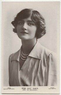 Lily Elsie (Mrs Bullough), by Rita Martin, published by  J. Beagles & Co - NPG x131526
