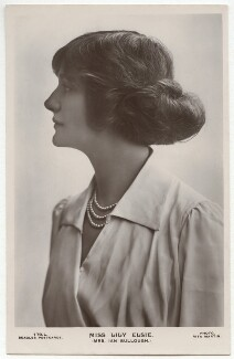 Lily Elsie (Mrs Bullough), by Rita Martin, published by  J. Beagles & Co - NPG x131527