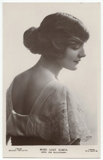 Lily Elsie (Mrs Bullough), by Rita Martin, published by  J. Beagles & Co - NPG x131528