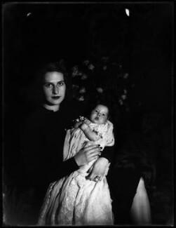 Bettyne Ione (née Everard), Lady Butler (later Mrs Spencer); Hon. Georgina Ione Butler, by Bassano Ltd - NPG x154252