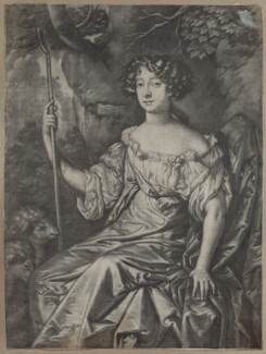 Catherine Grey (née Ford), Lady Grey of Warke, after Sir Peter Lely - NPG D30551