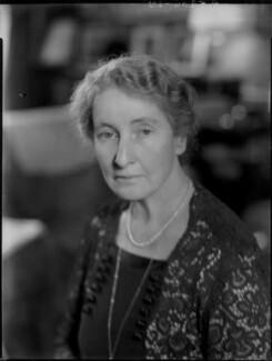 Augusta Helen Elizabeth (née Boyle), Viscountess Caldecote, by Bassano Ltd - NPG x96791