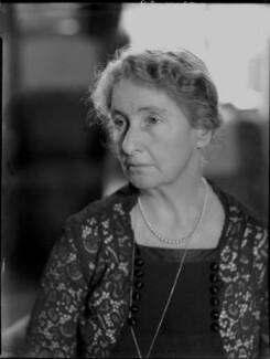 Augusta Helen Elizabeth (née Boyle), Viscountess Caldecote, by Bassano Ltd - NPG x96792