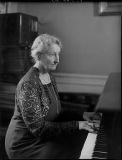 Augusta Helen Elizabeth (née Boyle), Viscountess Caldecote, by Bassano Ltd - NPG x96793