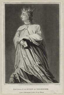 Jocosa Ramsay (née Apsley), Countess of Dalhousie, after Unknown artist, published by  Isaac Herbert - NPG D30577