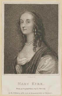 Mary (née Kirke), Lady Vernon, by E. Bocquet, after  Sir Peter Lely - NPG D30585