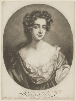 Catherine Sedley, Countess of Dorchester, by Robert Williams, after  Willem Wissing, published by  Edward Cooper - NPG D30586
