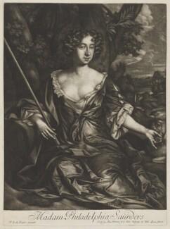 Philadelphia Saunders, after Sir Peter Lely, published by  Alexander Browne - NPG D30601