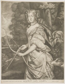 Jane Kelleway as Diana, published by Alexander Browne, after  Sir Peter Lely, circa 1684 - NPG D30603 - © National Portrait Gallery, London