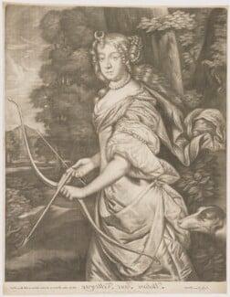 Jane Kelleway as Diana, published by Alexander Browne, after  Sir Peter Lely, circa 1684 - NPG D30603 - © National Portrait Gallery, London