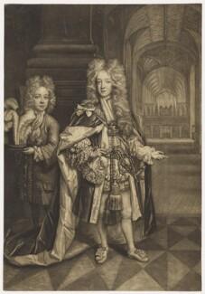 Benjamin Bathurst; William, Duke of Gloucester, by John Smith, after  Thomas Murray - NPG D9212