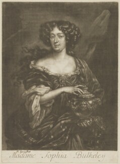 Sophia Bulkeley (née Stuart), by Henri Gascar - NPG D30605