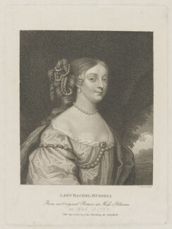 Rachel Russell (née Wriothesley), Lady Russell, by L. Legoux, published by  Edward Harding, after  Unknown artist - NPG D30609