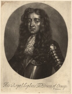 King William III, by Isaac Beckett - NPG D9217