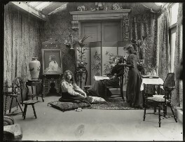 Bea Martin; Lallie Charles; Rita Martin, by Lallie Charles - NPG x68949