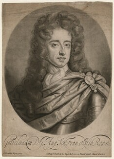 King William III, by John Smith, after  Sir Godfrey Kneller, Bt - NPG D9219