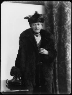 Lady Margaret Florence Lucy Boscawen (née Byng), by Bassano Ltd - NPG x154323