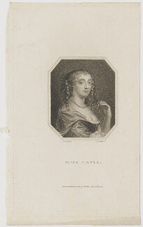 Mary Davis, by Edward Scriven, after  Sir Peter Lely - NPG D30619