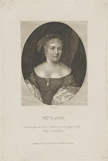 Mary Davis, by E. Bocquet, after  Unknown artist - NPG D30620