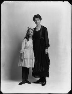 Hon. Judith Horatia Maud Messel (née Birdwood); Janetta Hope Gonville (née Bromhead), Lady Birdwood, by Bassano Ltd - NPG x154329