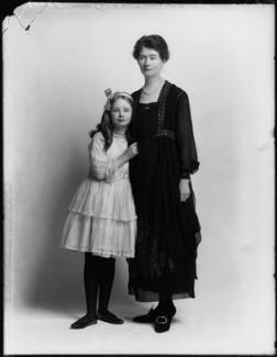Hon. Judith Horatia Maud Messel (née Birdwood); Janetta Hope Gonville (née Bromhead), Lady Birdwood, by Bassano Ltd - NPG x154330
