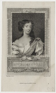 Eleanor ('Nell') Gwyn, by Henry Richard Cook, published by  Mathews & Leigh, after  Sir Peter Lely - NPG D30621