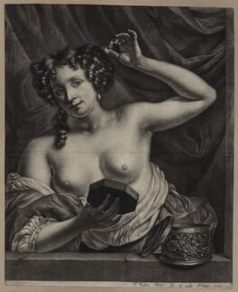 Eleanor ('Nell') Gwyn, by and published by Thomas van der Wilt - NPG D30626