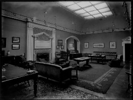 'Lady Cornwall's library and study', by Bassano Ltd - NPG x154363
