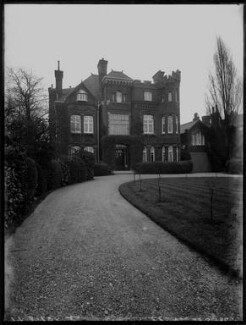 'Lady Cornwall's home (exterior)', by Bassano Ltd - NPG x154364