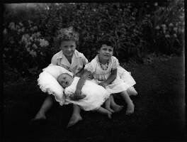 Julian David Smith; Antony Frederick Smith; (Esther) Joanna Smith, by Bassano Ltd - NPG x153157