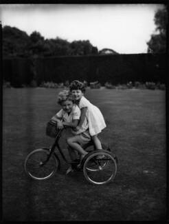 Julian David Smith; (Esther) Joanna Smith, by Bassano Ltd - NPG x153159