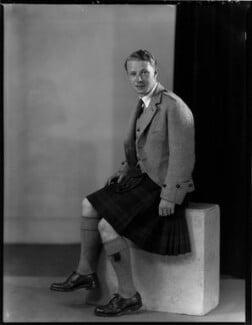 Graham Charles Kinnaird, 13th Lord Kinnaird of Inchture, 5th Baron Kinnaird of Rossie, by Bassano Ltd - NPG x153161