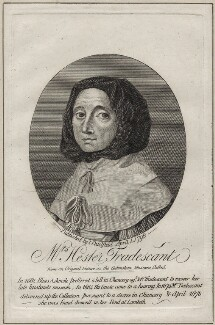 Hester Tradescant (née Pooks), published by James Caulfield - NPG D30639