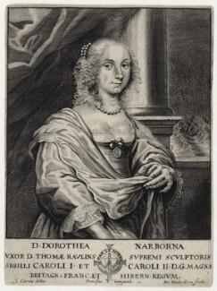 Dorothea Rawlins (née Narbona), by Antony van der Does - NPG D30640