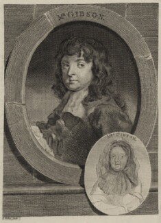 Richard Gibson and his wife Anne Gibson (née Sheppard), by Anthony Walker, after  Sir Peter Lely - NPG D30641