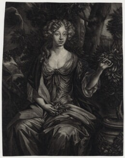 Elizabeth Campbell (née Tollemache), Duchess of Argyll, after Sir Peter Lely, published by  Alexander Browne - NPG D30644