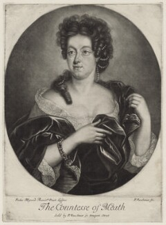 The Countess of Meath, by Paul van Somer, after  Paul Mignard - NPG D30647