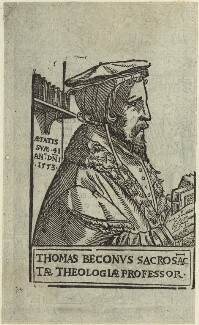 Thomas Becon, after Unknown artist - NPG D32916