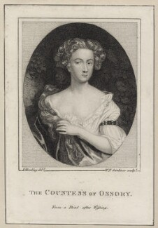 Aemilia Butler (née van Nassau), Countess of Ossory, by William Nelson Gardiner, after  Willem Wissing - NPG D30651