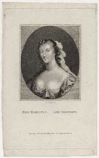 Elizabeth Hamilton, Countess de Gramont, by William Nelson Gardiner - NPG D30653